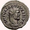 Quinarius Allectus galley-RIC 0128.2 (obverse).jpg