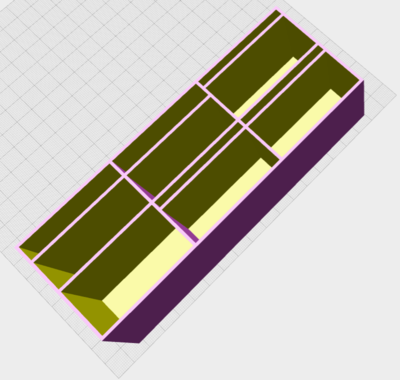 Picture of Remote Control Holder Design rendered by OpenJSCAD