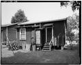 REAR (WEST) ELEVATION - Suburb Gracie, 1660 Gracie Street (House), Baton Rouge, East Baton Rouge Parish, LA HABS LA,17-BATRO,12D-2.tif