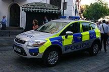 Gibraltar-Police-RGP Patrol Car