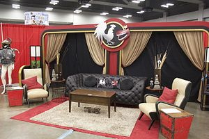 Rooster Teeth Podcast - The second podcast set on display at RTX 2015.