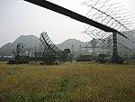 Radar antennas in the China Aviation Museum.jpg
