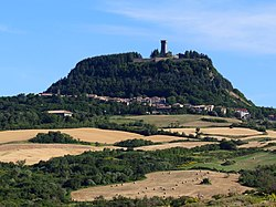 Radicofani seen from the south