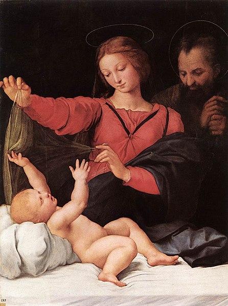 Virgen del velo, Rafael de Sanzio