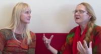 Ragnhild Nilsen interviews Evelin Lindner.png