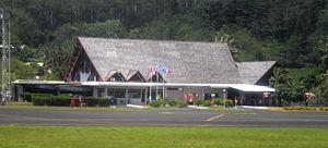 Raiatea Airport - Image: Raiatea Airport Terminal