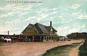 Railroad Station, Middleborough, MA