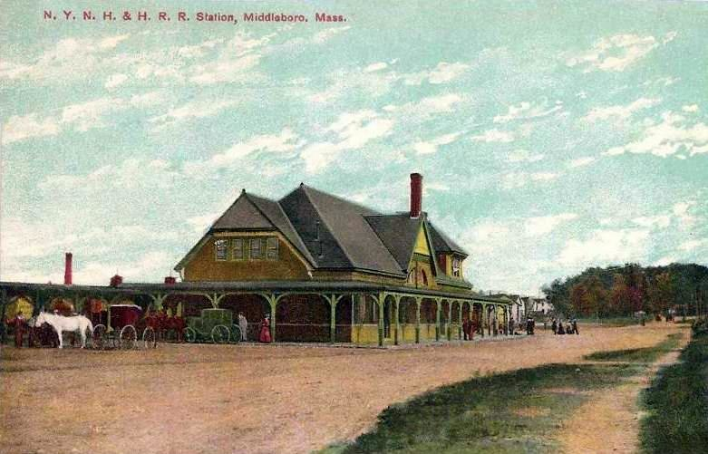Railroad Station, Middleborough, MA