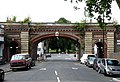 Railway bridge, Rosendale Road - geograph.org.uk - 1435054.jpg