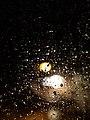 Raindrops on a window in Brastad 1.jpg