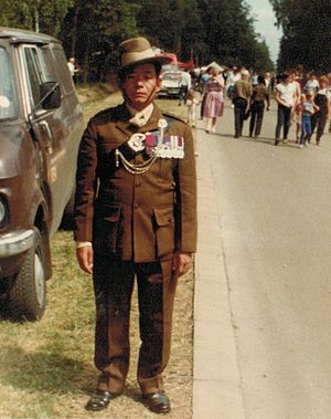 10th Princess Mary's Own Gurkha Rifles - Image: Rambahadur Limbu VC