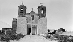 San Francisco de Asis Mission Church - Image: Rancho de Taos church 7