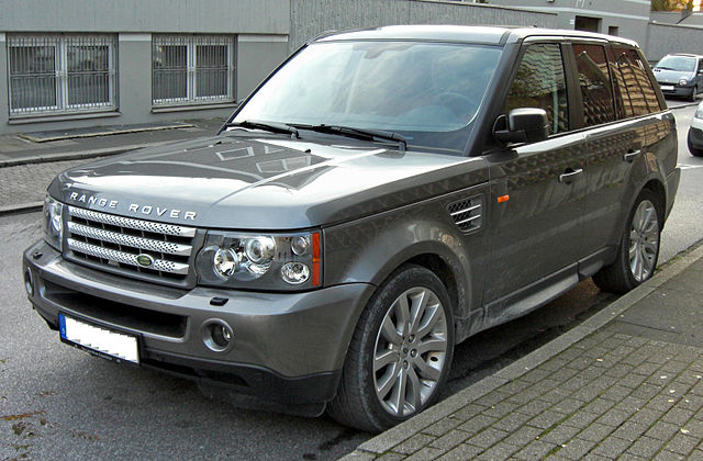 Range Rover Навигация