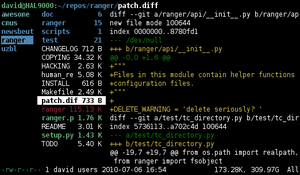 best console file manager linux
