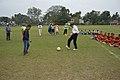 Ranjan Chowdhury and Syed Nayeemuddin Showing Skills - Football Workshop - Sagar Sangha Stadium - Baruipur - South 24 Parganas 2016-02-14 1172.JPG
