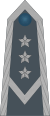 Rank insignia of młodszy chorąży sztabowy of the Air Force of Poland.svg