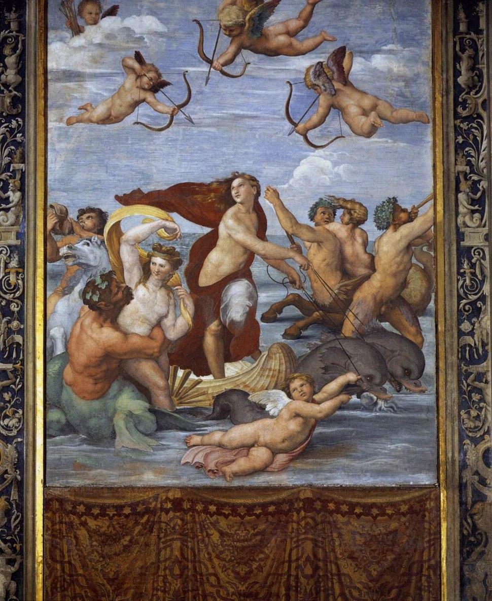 Raphael's Triumph of Galatea 01