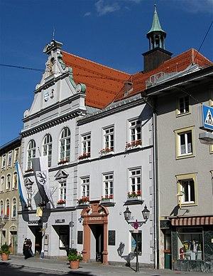 Wolfratshausen - Town hall Wolfratshausen