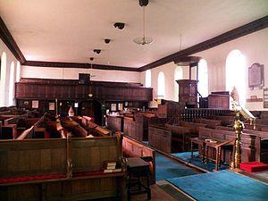Ravenstonedale - Image: Ravenstonedale priory interior