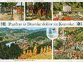 Razglednica Črne na Koroškem, Dravske doline in Caravaninga v občini Muta 1968.jpg