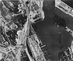 Reconnaissance photo of Gdynia with aircraft carrier Graf Zeppelin on 6 February 1942.jpg