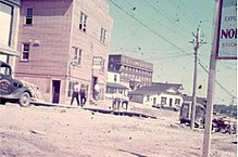 Picture of Downtown Red Lake in 1936