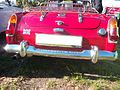 Red MG MIDGET 1 Cabrio Baujahr 1963 (rear).JPG