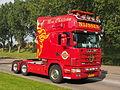 Red Scania truck, Nijssen.JPG
