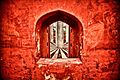 Red walled at the Jantar Mantar, New Delhi.jpg