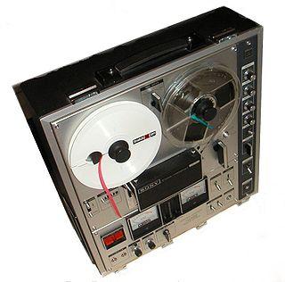 Reel-to-reel audio tape recording