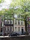 reguliersgracht 8 and 10 across