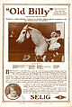 Release flier for OLD BILLY, 1911.jpg