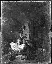 Rembrandt (Harmensz. van Rijn) (Nachfolger) - Anbetung der Hirten - 2117 - Bavarian State Painting Collections.jpg