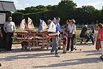 Renting boats in the Luxembourg Gardens, Paris May 2014.jpg