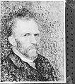 Reproductie van een zelfportret van Van Gogh, Bestanddeelnr 252-1886.jpg