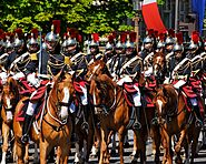 Republican Guard Cavalry Regiment Bastille Day 2008