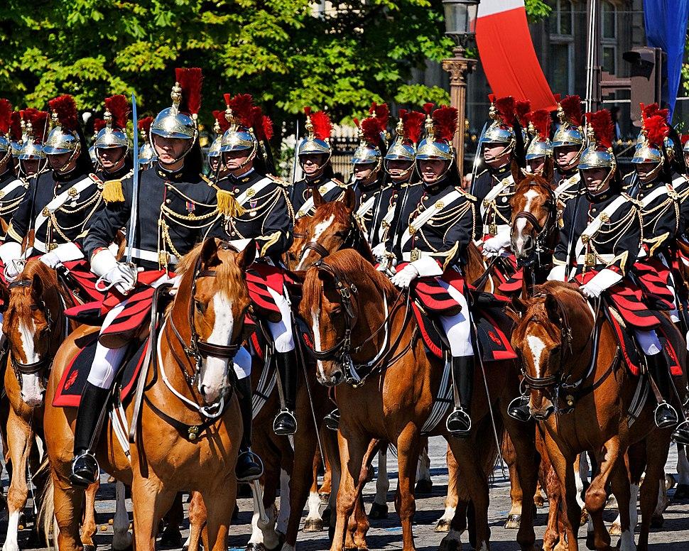 Republican Guard Cavalry Regiment Bastille Day 2008