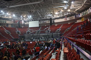Resch Center - Resch Center interior after a concert