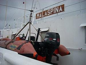 Rescue boat, MV Malaspina.jpg