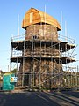 Restoration work underway on the Meir Heath windmill - geograph.org.uk - 1745214.jpg