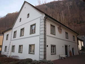 Josef Rheinberger - Rheinberger's birthplace in Vaduz