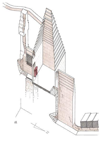 нижних храмов пирамидных