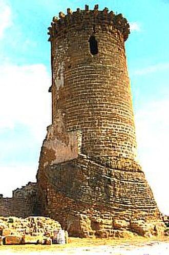 Ribera, Agrigento - A Tower of Castello di Poggio Diana.