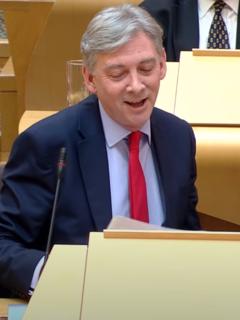 Richard Leonard Former Leader of the Scottish Labour Party