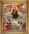 Ridolfo del ghirlandaio (attr.), maria assunta tra i ss. giovanni battista e francesco, 1524 ca. 01.jpg