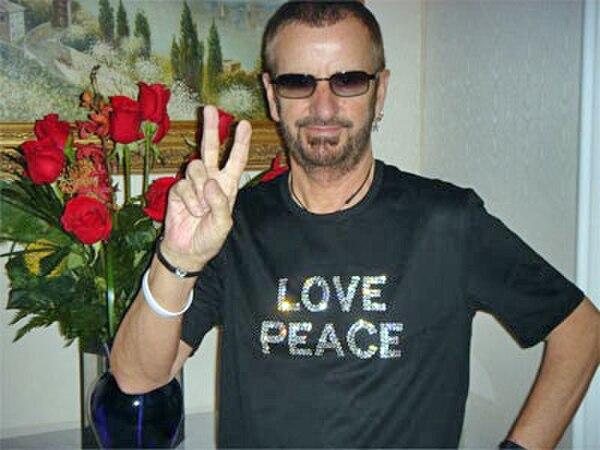 Photo Ringo Starr via Wikidata