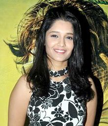 Ritika Singh at Saala Khadoos screening (cropped).jpg