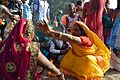 Ritual Blessing - Chhath Puja Ceremony - Grand Foreshore Road - Howrah 2013-11-09 4181.JPG