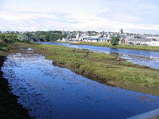 River Thurso river in Scotland