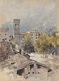 Robert Russ - Porta San Michele in Riva - 1895-1900.jpeg